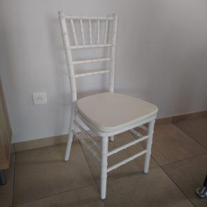 chaise marnion bois blanc