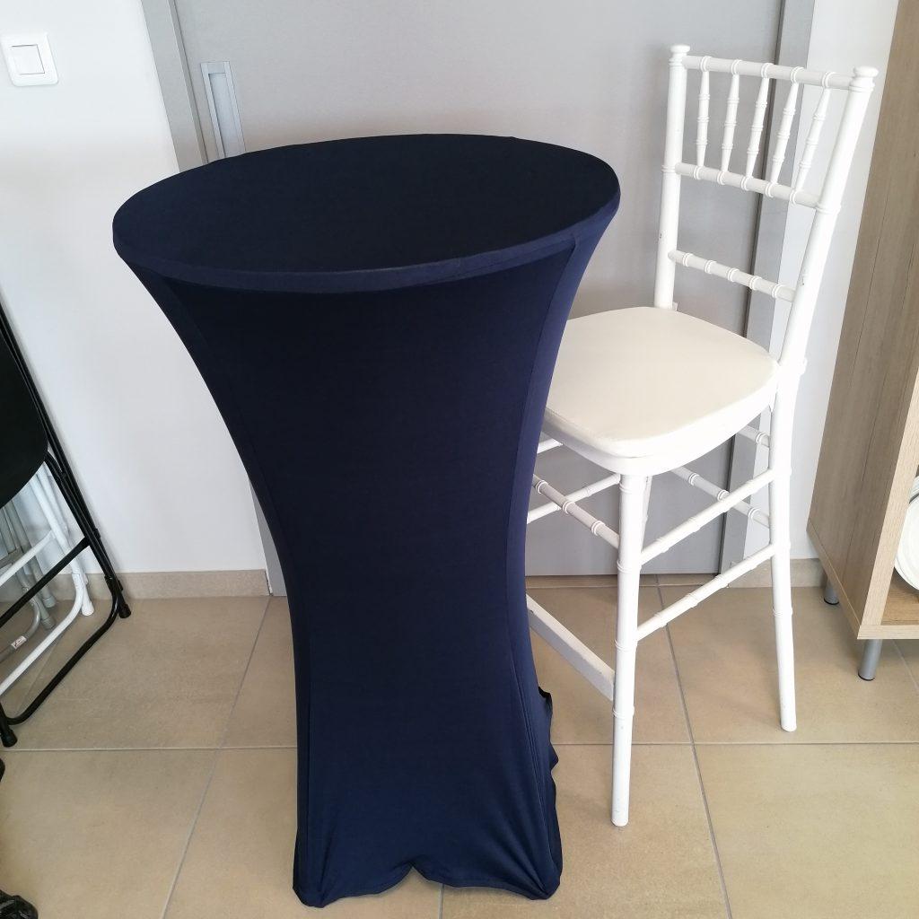Avec chaise haute Marnion blanche